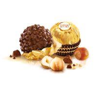3er Ferrero Rocher Präsent in Werbekartonage mit Logodruck Bild 3