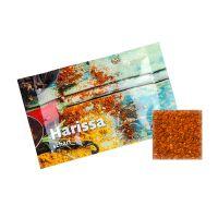 4 g Bio Harissa Afrika Gewürz in Portionstüte mit Werbedruck Bild 1