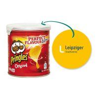 40 g Mini Pringles Original mit Werbeflyer und Logodruck Bild 1