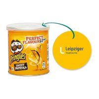 40 g Mini Pringles Sweet-Paprika mit Werbeflyer und Logodruck Bild 1