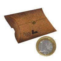 40 g Schoko-Euro-Münzen in Kissenbox mit Werbedruck Bild 1