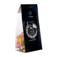 50 g Jelly Beans im Standbeutel mit Werbereiter Bild 2