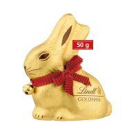 50 g Lindt Goldhase in Werbekartonage mit Logodruck Bild 2