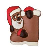50 g Relief Weihnachtsmann mit Stiefel Bild 1