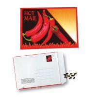 6 g Samen-Briefkarte Hot Mail mit Werbedruck Bild 1