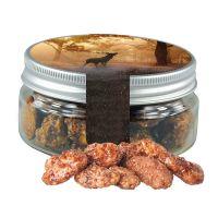 60 g Feuergebrannte Mandeln in Sweet Dose mit Werbe-Flügeletikett Bild 1