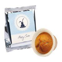 60 g Orangen-Muffin in Silberfolie mit Etikett und Logodruck Bild 2