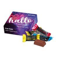 6er HELLO Mini Stick Mix in Werbekartonage mit Logodruck Bild 1