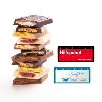 7,5 g Nashido zotter Schokotafel mit Logodruck Bild 1