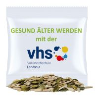 7 g Bio Kürbis-SonnenblumenkernMix im Werbetütchen mit Werbedruck Bild 1