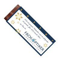 70 g handgeschöpfte zotter Schokoladentafel mit Logodruck Bild 2