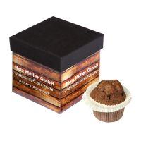 80 g Weihnachtsmuffin in bedruckbarer Faltbox Bild 1