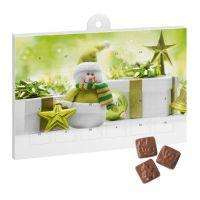 A5 Schoko Adventskalender Basic mit Werbedruck Bild 3