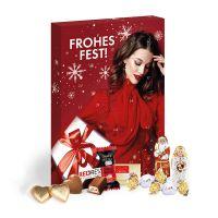 Adventskalender Lindt Premium-Selection mit Werbedruck Bild 1