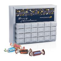 Adventskalender Miniatures Mix Exquisit  mit Werbedruck Bild 1