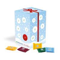 Adventskalender Quadretties Cube XL mit Logodruck Bild 1