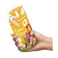 ca. 35 g Kissenverpackung mit Lindt Schokolade mit Werbedruck Bild 3
