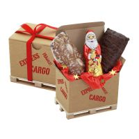 Cargo Box Xmas 3 mit Werbeanbringung Bild 1