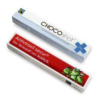 CHOCOshots oral Spritze von zotter mit Logodruck Bild 3