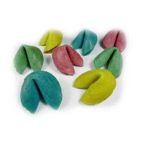 Farbiger Werbe-Glückskeks mit farbigen Innenzettel Bild 5