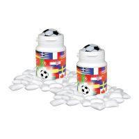 Fußball Gum Box mit Werbebedruckung Bild 1