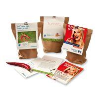 Gemüseanbau-Set mit Werbereiter und Logodruck Bild 2