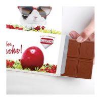 Grußkarte mit Schokoladentafel Excellence mit Werbedruck Bild 2