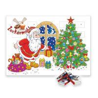 Heidel Wand-Adventskalender mit Werbedruck Bild 1
