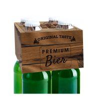 Helles Premium-Bier mit Werbeeetikett Bild 5