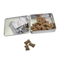 Hunde Leckerli-Adventskalenderdose mit Werbedruck Bild 2
