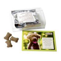 Hunde Leckerli-Box mit bedruckbarem Einleger Bild 2