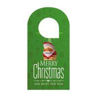 Individueller Türhänger mit einem Schoko-Weihnachtswichtel Bild 1