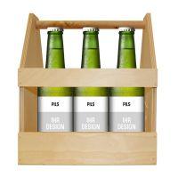 Kellerbier Premium-Bier mit Werbeeetikett Bild 5
