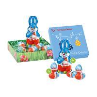 Kinder Schokolade Osternest im Werbekarton mit Logodruck Bild 1