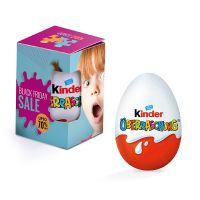 Kinder-Überraschung in Eck-Sichtfenster-Karton mit Werbebedruckung Bild 2