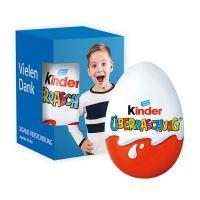 Kinder-Überraschung in Werbekartonage mit Logodruck Bild 2