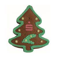 Lebkuchen-Weihnachtsbaum mit essbarer Werbeanbringung Bild 2