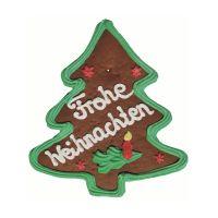 Lebkuchen-Weihnachtsbaum mit essbarer Werbeanbringung Bild 3