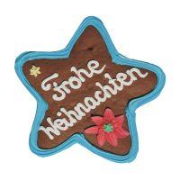 Lebkuchenstern mit essbarem Logoaufdruck und Werbeanbringung Bild 3
