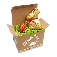 Lindt Cargo Box Ostern I mit Werbeanbringung Bild 1