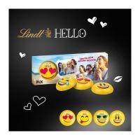 Lindt HELLO 3er Emoti mit Werbebedruckung Bild 1