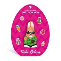 Lindt HELLO Mini Bunny im Osterei-Aufsteller mit Logodruck Bild 1