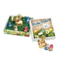 Lindt Osternest Geschenk mit Logodruck Bild 1