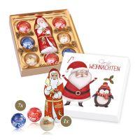 Lindt Präsent Weihnachtszeit mit Werbebedruckung Bild 2