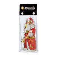 Lindt Weihnachtsmann mit Werbereiter Bild 2