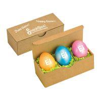 LogoEi Nougat 3er Snack-Box mit Werbeanbringung Bild 1