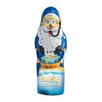 Maxi Schoko-Weihnachtsmann Hohlfigur mit Werbedruck Bild 3