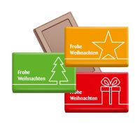 Midi Schokoladen-Täfelchen Weihnachten Bild 1