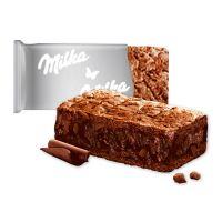 Milka Choco Brownie in Werbekartonage mit Logodruck Bild 2