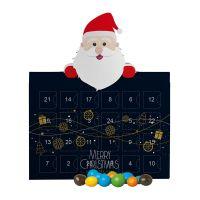 Mini Adventskalender mit Schoko-Erdnüssen und Werbedruck Bild 2